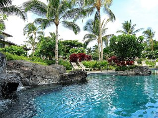 Tropical Haven close to waterfall pool!  Best Val