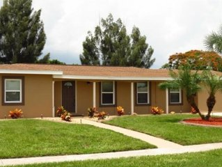 3Br/2Ba Waterfront Home W/Gulf Access - Relaxing Get Away