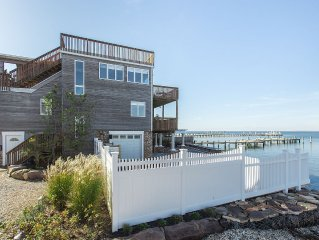 Bayfront Home with Panoramic Water Views and an In-Ground Saltwater Pool.