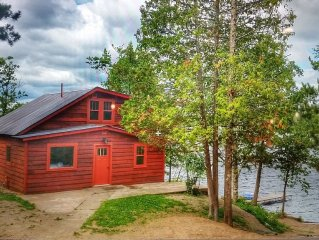 Stunning Restored Vintage White Iron Cabin Retreat.  BWCA Access #Boat and canoe