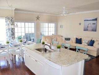 5 BD/4.5 BA - 4 Master Suites! Newly Renovated - Welcome to SERENITY NOW! Beach!