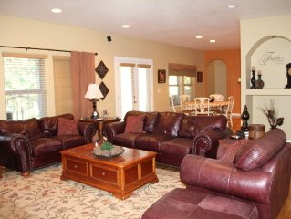 Beautiful 3100 sq ft. 5 bedroom 3 full bath sleeps 12