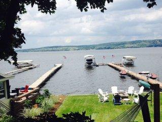 Lakewood NY Lake Home