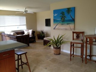 5 Acre Ocean View Suite! Great location! Very Quiet and Private.