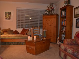 Two Bedroom Condo, Close to Historic Downtown Square, Pool, Private Yard