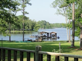 View of dock from patio