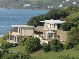 A Tropical Villa on Grapetree Bay! Spectacular Ocean Views And Breezes.