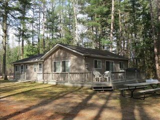 Charming Cabin on Long Lake; Near Golf Course, Ski & Atv Trails
