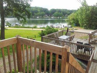 Lakefront Getaway on Beautiful Long Lake - Sleeps 9!