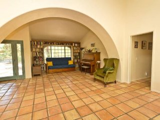 Gorgeous Spanish adobe style 3BR home with hot tub.