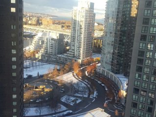 Vancouver Yaletown Executive Fully Furnished One Bedroom Condo At West One