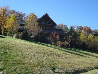 Beautiful 5 bedroom mountain house with long range mountain views.