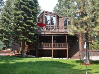 Beautiful Truckee Home with Amazing Decks and Yard.  Minutes to Skiing!