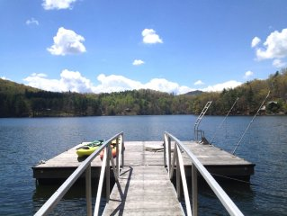 Lakefront Cabin with private Dock - Kayaks - WiFi - Direct TV