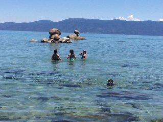 A++ LAKE & BEACH ACCESS **PIER, BUOY, WHITE SAND BEACH** Swim, Kayak, Boating!
