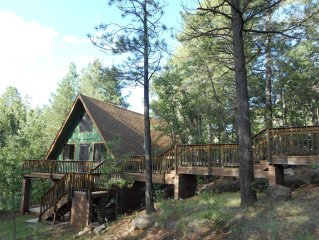 Peaceful Cabin Tucked into Munds Canyon; Enjoy the Wide-open Forest