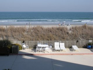 Beautiful Ocean Front Condo w/Pool at Wrightsville Beach