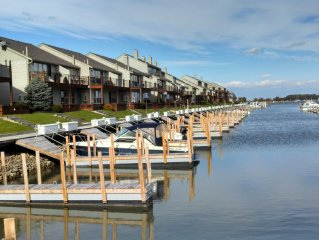 Harbor front condo.  Spring dates available for fishing season