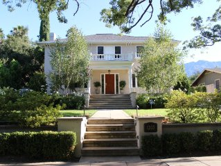 **1922 Grand Italian Revival Home in Pasadena Landmark District**