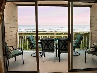 Private Ocean Front Windjammer Condo Spectacular Ocean View Steps From the Beach