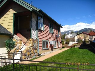**BEST VRBO DEAL! Mt Shasta View, Pet Ok, close to crystal shops downtown