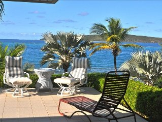 East End Waterfront Villa with Spectacular View of Buck Island