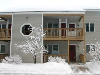 Spacious North Conway 2nd Floor Condo