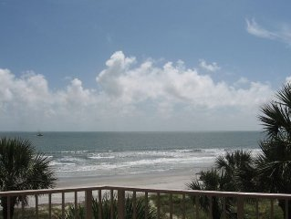 303 Turtle Lane Club - Premier Direct Oceanfront,  Fall Discount Rates