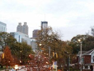 Centennial Park, GT, World Congress Center, CNN Center, America's Mart