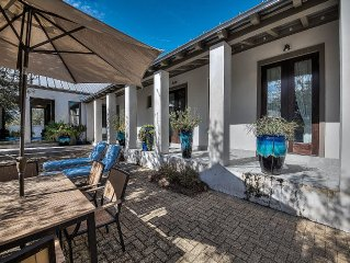 30A Escapes 'Somerset Cottage' Private Rosemary Beach Home with Gated Courtyard!