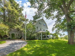 A gorgeous Colonial home on Boston's North Shore with exceptional views