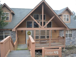 Family Friendly Lodge Nestled in the Woods -- Next to Silver Dollar City!