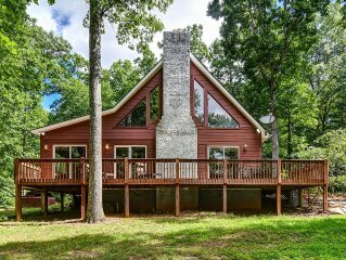 Taylor Ranch Retreat, a cozy home nestled in the trees.