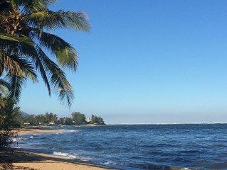Vacation in Paradise; A Classy Hawaiian Feel Steps from the Beach