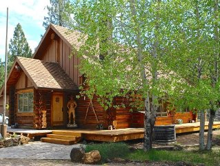 Custom Lodgepole Chalet near Golfing, Hiking, Fishing, & Skiing