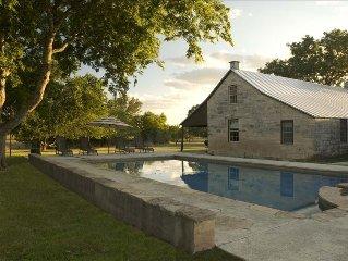 1896 Historical Retreat Ranch / Pool Tennis Party Barn
