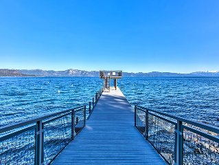 TAHOE PERFECTED! WALK TO PRIVATE PIER/BEACH-HIKING/BIKING OUT THE BACKDOOR!