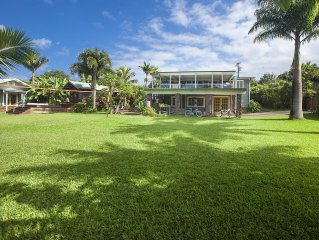 Tranquil Paradise Rental On Acre Property In Pupukea - Close To Beaches