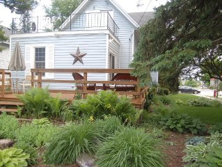 Think spring!  Specials for fun in Downtown Elkhart home - Sleeps 12!