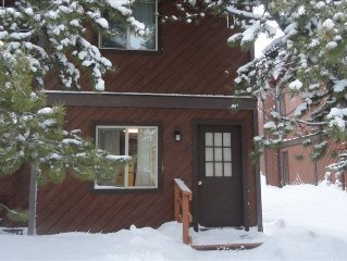 West Yellowstone/Intown Condo.   Snowmobiling directly from front door.