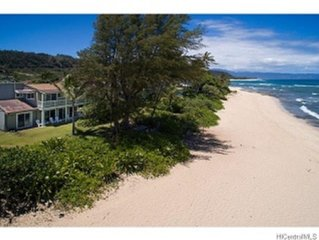 Sunsetbeach Front North Shore Home In Haleiwa