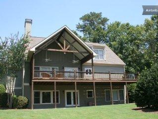 Family Friendly Lake Oconee House