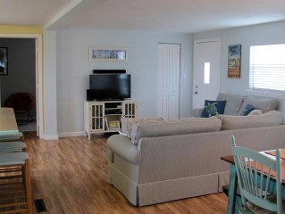 All Swell!  Soundside Beach Cottage (pet friendly, linens provided)