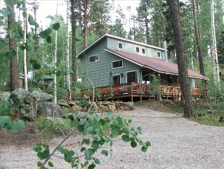 The Alpaca Barnhaus in the Jemez Mountains-Quiet & Comfortable at 8700' $145/nt