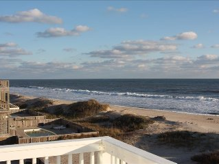 Fabulous Semi-Oceanfront Home on Hatteras Island!  7/8-15 AVAILABLE due to Cx!!!