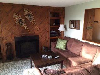 Enjoy the beauty and charm of Vermont in spacious updated 2 BR/2BA condo