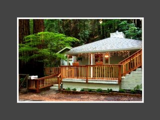 Cozy Cottage in Rio Nido Nestled in the Redwoods