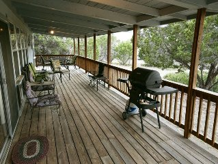 Cozy, Comfortable Cabin Style Home Located in Beautiful Texas Hill Country