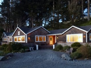 Ocean Front,  Point Reyes, Tomales Bay, Vacation rental lodge home