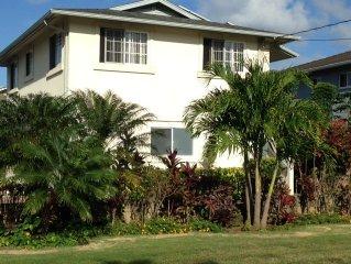 Spacious, quiet apartment on North Shore Oahu.